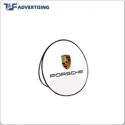 Round Pop Out Frame Banner-Feather Flag Manufacturer|Folding