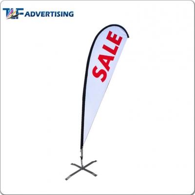 Teardrop Flag/Tear drop banner-Shanghai TLF Advertising Co., Ltd