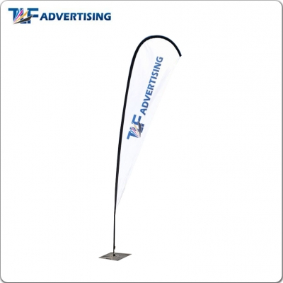 18ft Teardrop Flag Flying Bann...