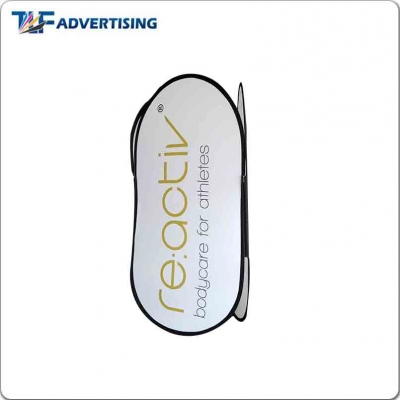 Pop Out Frame Banner Feather Flag Manufacturer Folding Canopy Tent