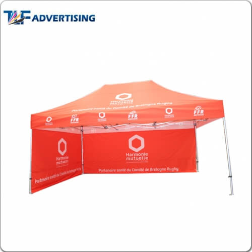 10x15 Folding Tent 3x4 5m Folding Tent Custom Printed