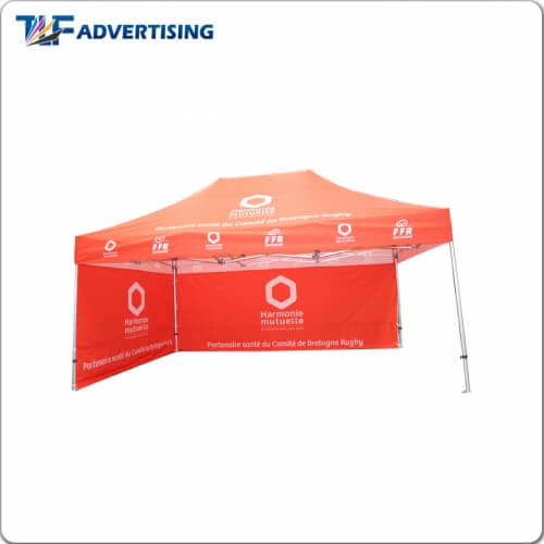 10x15ft canopy tent feather flag manufacturer folding canopy tent