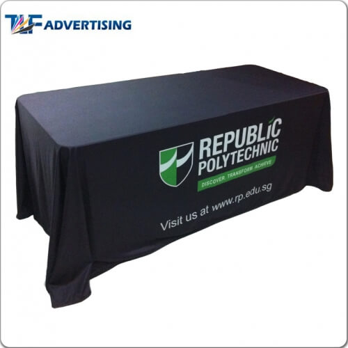 6ft Table Throw Cover Full Color -Feather Flag Manufacturer Folding