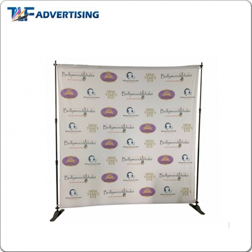 Step and Repeat Banner | Custom Fabric Media Wall-Feather Flag ...