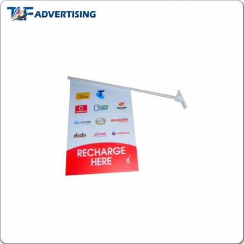 wall mounted flag chain store wall flags feather flag manufacturer